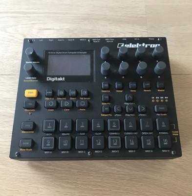 Elektron Digitakt / Audio Technica / Reon Driftbox