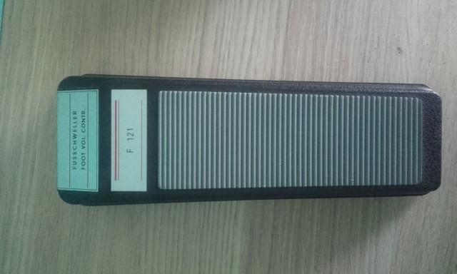 Vendo/ Cambio pedal de volumen Schaller