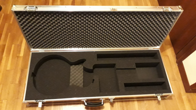 Flight Case Thon para Gibson Les Paul Zurdos