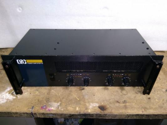 Etapa QSC 42 Power Amplifier Vintage