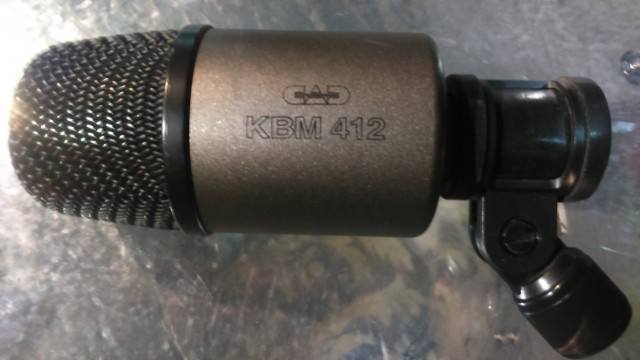 Microfono Bombo CAD KBM-412