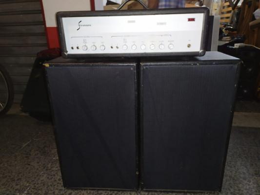Amplificador de guitarra Sinmarc -R-2280-C