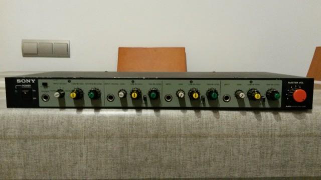 Mixer de Audio SONY MU-X051
