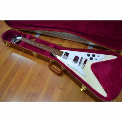 Gibson Japan Flying V Classic White NUEVA A ESTRENAR