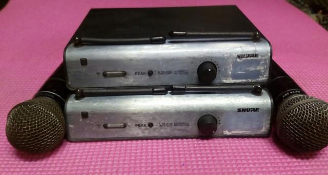 Micrófonos Shure