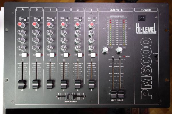 Hi-Level PM6000, mezclador de 6 canales de altas prestaciones