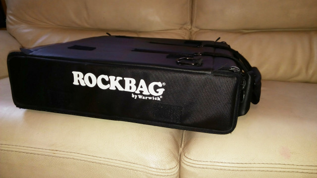 ROCKBAG Flightcase Bolsa Rack 2 und