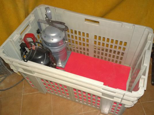 Cajas de transporte/almacenaje de focos