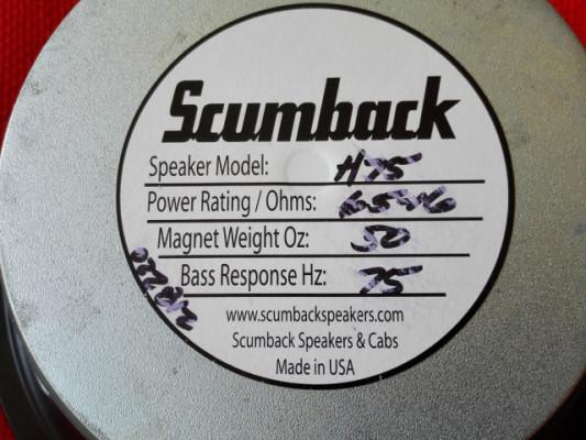Scumback H75 dañado