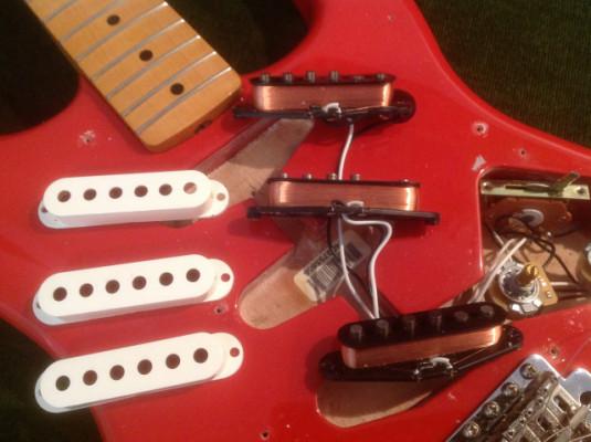 Set de pastillas Fender Stratocaster Classic 50's