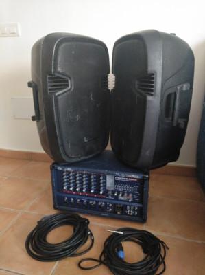 PA Pasivos PHONIC POWERPOD 630RW BUNDLE