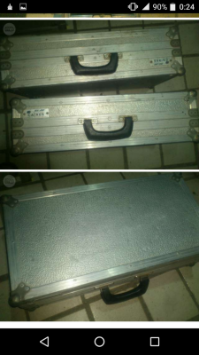 flightcase aluminio ideal pedales guitarra