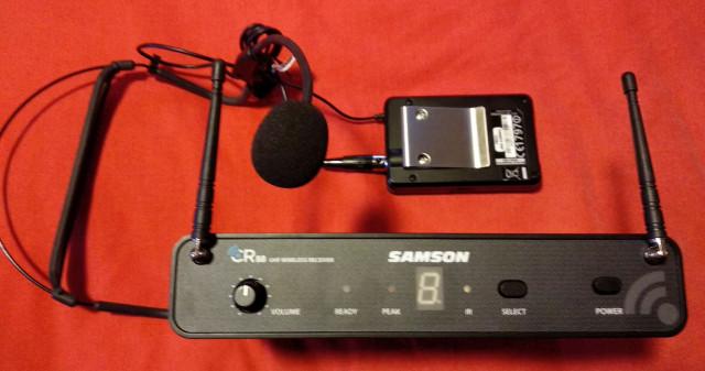 Microfono inalambrico de Diadema Samson concert 88