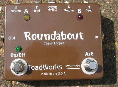 Pedal Toadworks modelo ROUNDABOUT Signal Looper -A EStrenar-