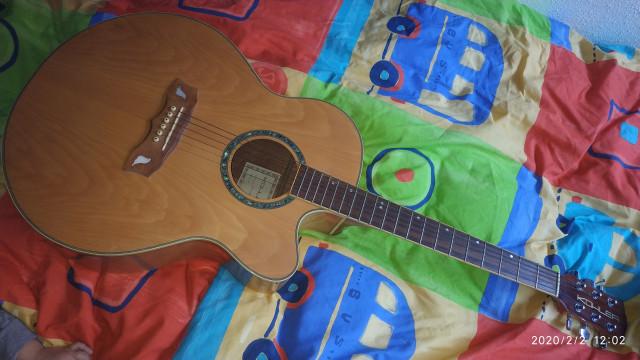 Guitarra electroacústica Kohler sjc-200e