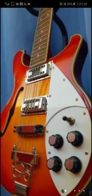 12 cuerdas estilo Rickenbacker (Harley Benton)