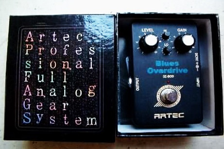 Artec Blues Overdrive