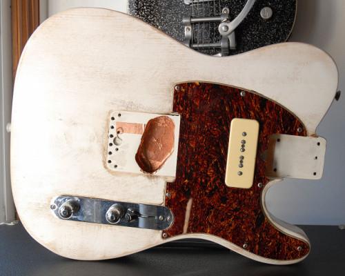 Cuerpo Fender Telecaster japonés, año 95