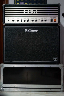 ENGL E650 + 2X12 PALMER (celestion V30) + Flighcase cabezal   o cambio