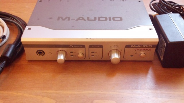 M Audio Firewire Audiophile