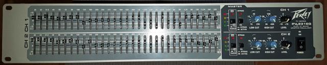Ecualizador Peavey PV231EQ
