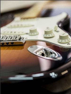 RESERVADA!!! Fender Custom Shop Classic 2007 Sunburst + envio
