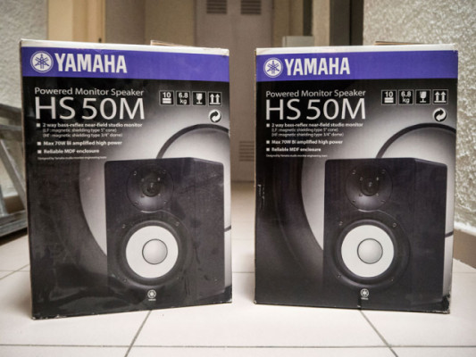 YAMAHA HS50M MONITORES RESPUESTA PLANA