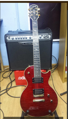 Guitarra electrica Les paul prophecy