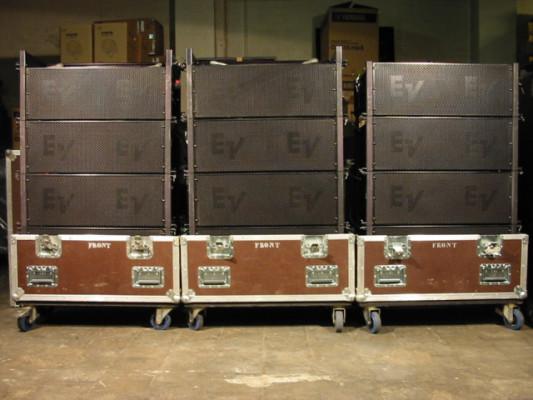 Electro Voice sistema line array xld281+xsub