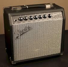 Fender Champion 20 con celestion eight 15