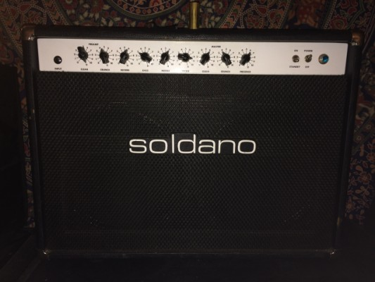 Soldano Reverb-o-Sonic 2x12  50 watts