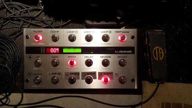 Vendo Tc Electronic G-system