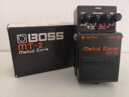 Pedal Distorsión Boss Metal Zone MT-2 (1997)