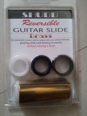 Shubb Axys reversible guitar slide
