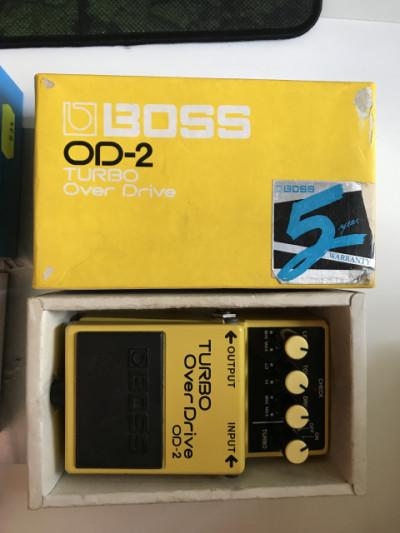 Pedal Boss OD-2 !! Nueva Bajada de precio!