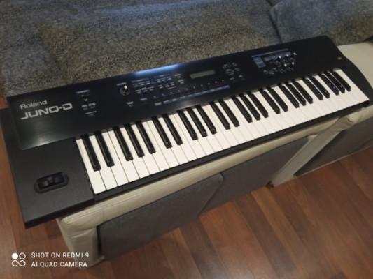 Reservado! Teclado Sintetizador Roland Juno-D Keyboard Synthesizer