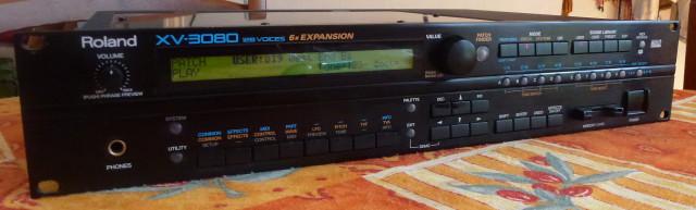 Roland XV 3080 + Tarjeta Smartmedia (VENDIDO)