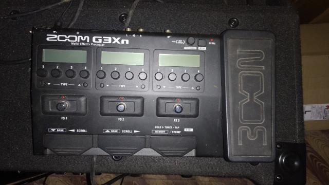 Pedalera Zoom G3Xn