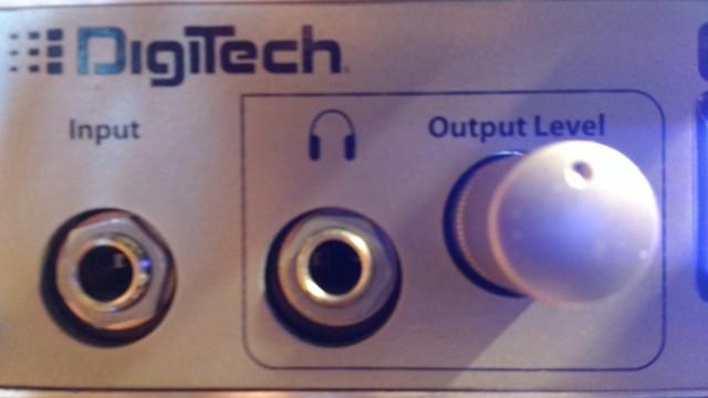 Previo de guitarra Digitech GSP 1101 -SEMINUEVO -