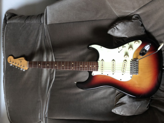 Fender strat 60 custom año 99
