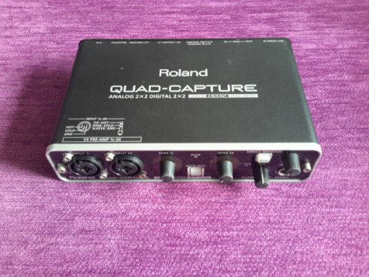 Interface ROLAND QUAD CAPTURE