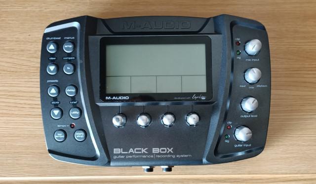 Interface de audio BLACK BOX de M AUDIO