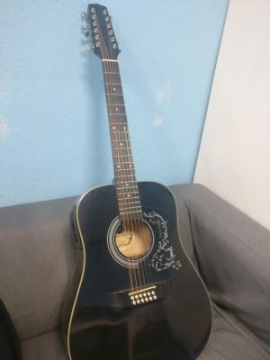 Guitarra acústica 12 cuerdas