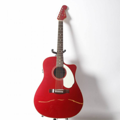 Guitarra Electroacústica Fender Sonoran SCE Candy Apple Red E3215