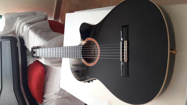 Guitarra Almansa CWE-435-negr