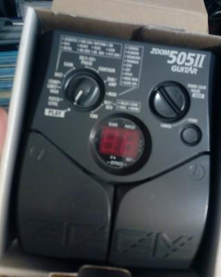 Zoom 505 II pedal efectos