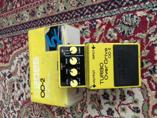 Boss od-2 turbo overdrive