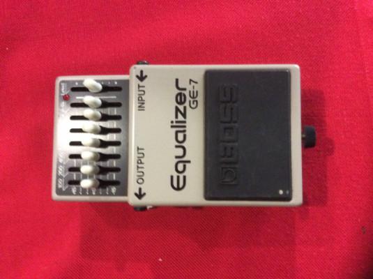 pedal ecualizador boss ge7
