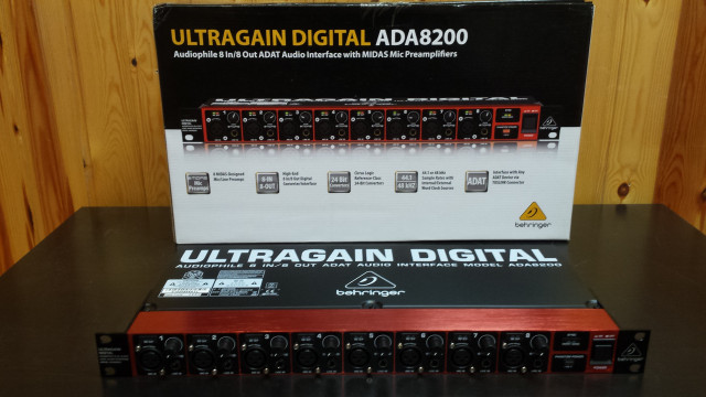 Previo Behringer ADA8200 Ultragain