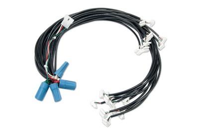 Arnes de 40 cables de alimentación modulos formato Mu